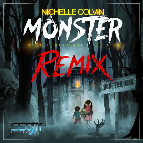 Nichelle Colvin - Monster - A Halloween Tale for Kids (remix)